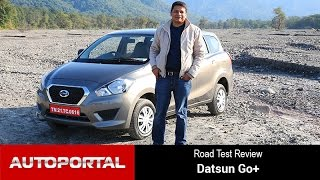 Datsun Go+ Test Drive Review - Autoportal