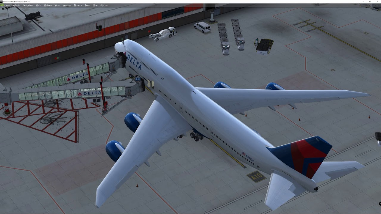 Replacing SODE jetways for gsx jetway in KATL by Imaginesim Gate A10