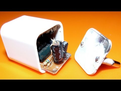 Explosion of USB charger