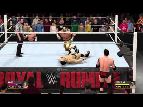 WWE Royal Rumble 2016: Alberto Del Rio vs. Kalisto WWE 2K16 Simulation