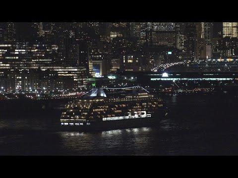 Seven Seas Mariner Departs New York (September 21, 2016)