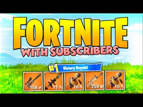 FORTNITE WITH SUBSCRIBERS !! #1 Ranked player at monopoly