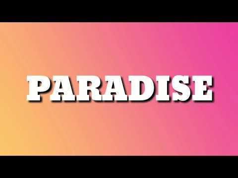 Khalid - Paradise (Lyrics)