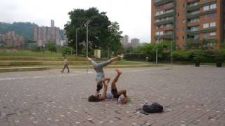 Preparing for Flight - 3rd AcroYoga Class