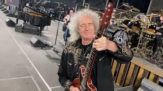 Download Queen + Adam Lambert  soundcheck Nagoya Dome clip 30 Jan 2020