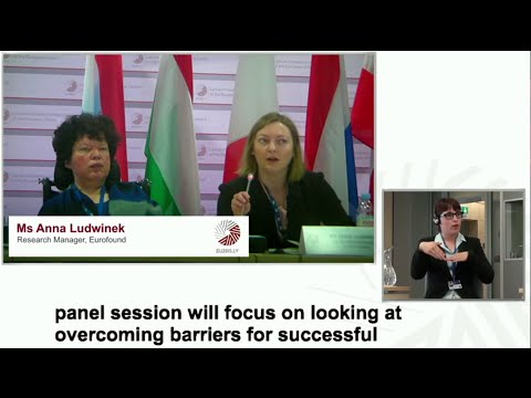 "Panel discussion II – ""How to overcome barriers for successful employment?"""