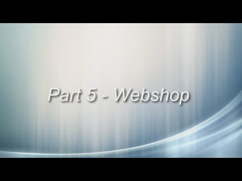 Create a webshop with Asp.Net - Part 5