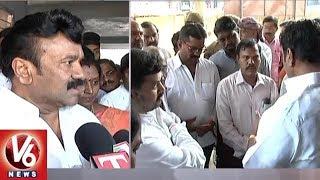 Minister Talasani Srinivas Yadav Lays Foundation Stone For Govt Hospital In Ameerpet | V6 News