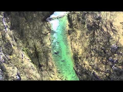 Rijeka Korana - kanjon - dokumentarna snimka iz zraka