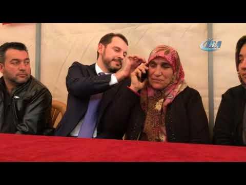 Şehit eşi, Cumhurbaşkanı Erdoğan ile telefonda görüştü Hatayinternettv.com