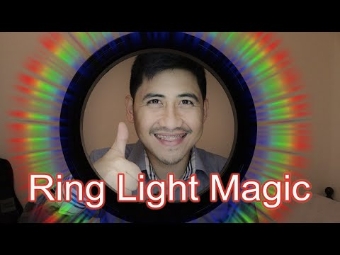Ring Light for Video Enhancement | Hampaslupa Product Review 01