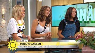 """Tonårspanelen: """"Det är pinsamt för lärarna också"""" - Nyhetsmorgon (TV4)"""