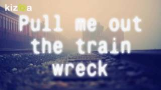 James Arthur - Train Wreck (LYRICS) Video