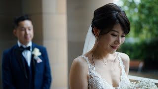 Chrissie + Johnny | Wedding Highlights | National Gallery of Victoria | Silver Arrow Films
