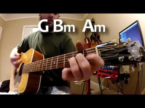 Star of the Show - Thomas Rhett - Guitar Lesson - Beginner / Intermediate - Tutorial
