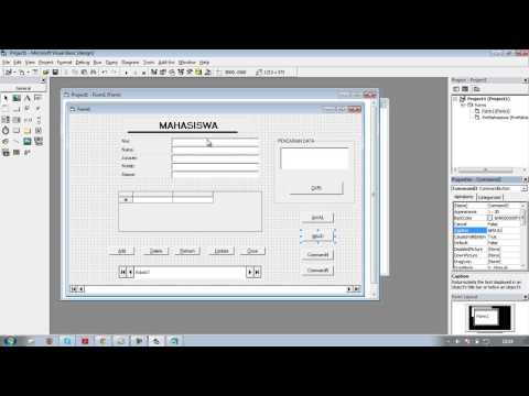 Tutorial Membuat Database Visual Basic 6.0