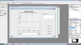 Tutorial Membuat Database Visual Basic 6.0