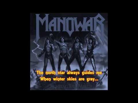 Manowar - Carry On (lyrics on screen)