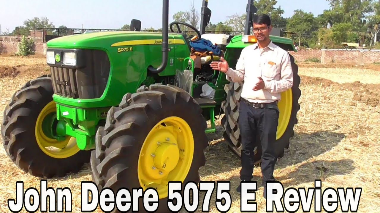 John Deere 5075 E 4WD Tractor Full Review and Specification in Hindi