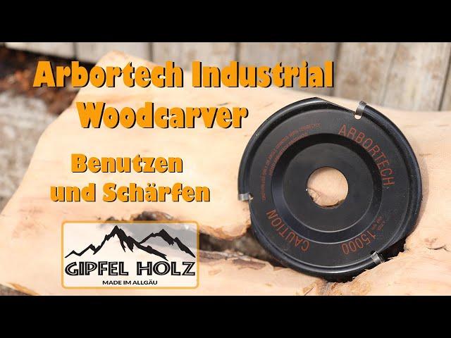 Arbortech Industrial Woodcarver   Vorstellung, Benutzung und Schärfen