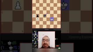 اختبار  شطرنج ( هذا الموقف تعادل 😳)
