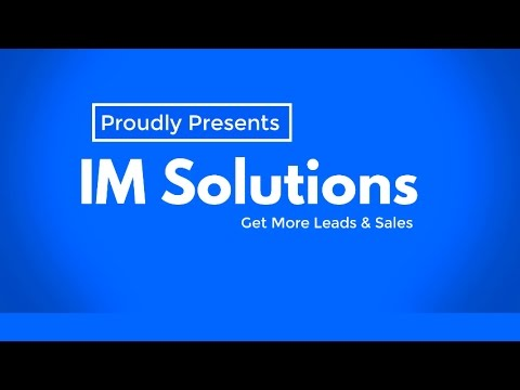 IM Solutions - Get more enquiries & sales via SEO