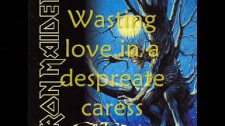 Iron Maiden-Wasting love lyrics