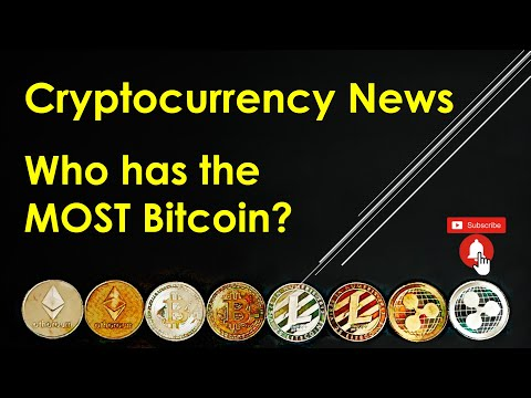 Cryptocurrency News - Who Has The MOST Bitcoin?