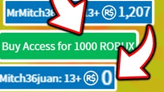 SPENDING ALL MY ROBUX ON THIS ROBLOX GAME!?