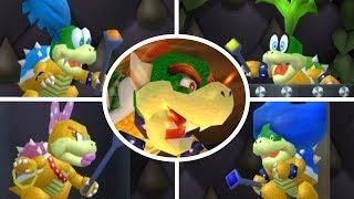 New Super Mario Bros 64 - All Castle & Airship Bosses