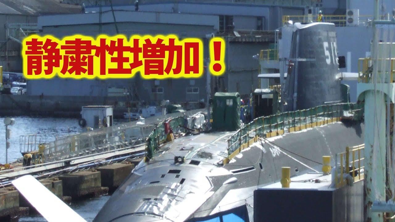 海自最大3000トン級たいげい潜水艦ついに表す!潜水艦22隻体制を目前とし・・・世界最高峰潜水艦は異次元の発射管をもつか?