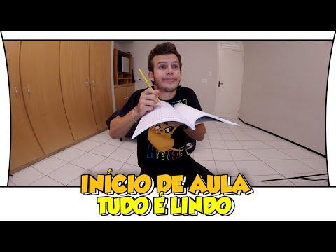 INÍCIO DE AULA TUDO É LINDO