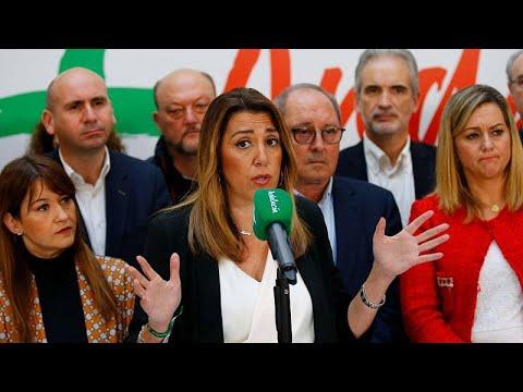 Andaluzia muda panorama político em Espanha