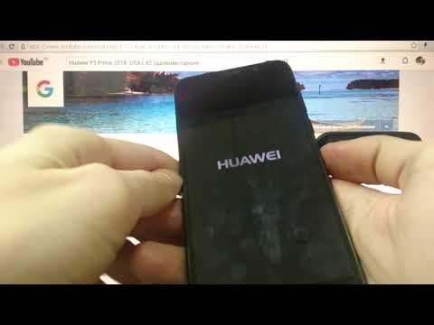 Huawei Y5 Prime 2018 Hard Reset Удаление пароля андроид 8.1