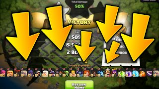 "Clash of Clans - ""SO MANY TROOPS!!"" (CoC Weird Strange NEW Attack Strategies)"