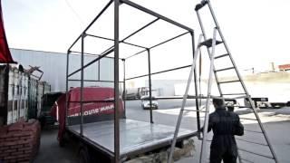Изготовление тентованной будки с воротами на «Газель»
