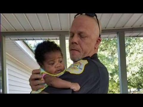 Police officer is forever changed after saving choking baby
