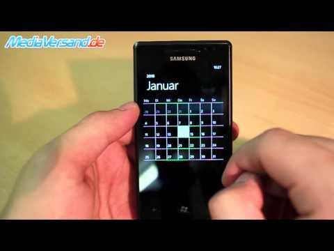 Samsung I8700 Omnia 7 Einblick Handy Telefon Mobile