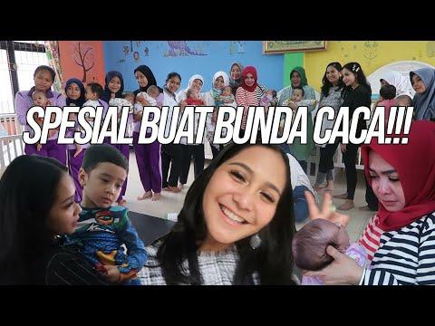 MAMA RIETA NANGIS SAAT BUNDA CACA ULANG TAHUN..LOVE YOU CA!!!