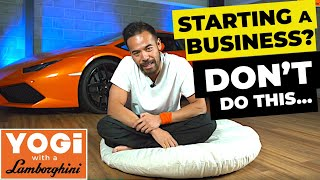 Watch This Before Starting a Business! | Don't Make This Mistake!! [WARNING!!]