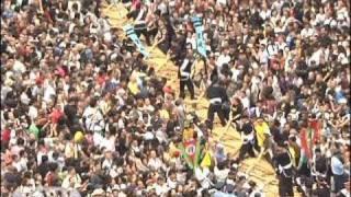 沖縄で「那覇大綱挽」 ギネス登録の世界一の大綱(09/10/12)