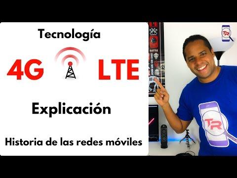 4G LTE explicación y diferencias. Historia de las redes móviles