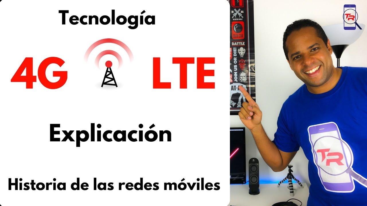 Download 4G LTE explicación y diferencias. Historia de las redes móviles