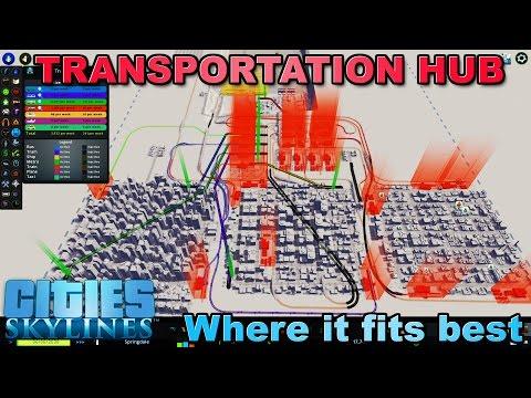 PERFECT SIZE Transportation Hub