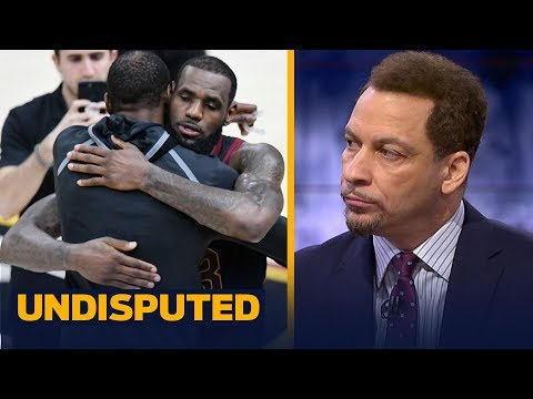 Chris Broussard's level of concern is 4 out of 10 for the Cavs after loss to Warriors | UNDISPUTED