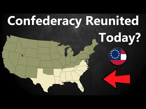What If the Confederacy Reunited Today?