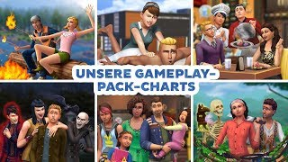 Unsere Gameplay-Pack-Charts | sims-blog.de