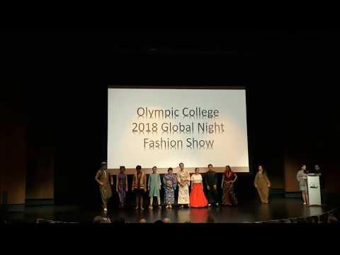 International Education Week - Annual Global Night 2018 Olympic College, Part 2
