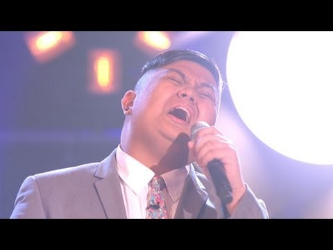 The Voice UK 2013 | Joseph Apostol performs 'A Song For You' - The Knockouts 1 - BBC One