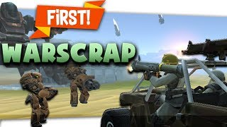 "🌊 Wave Survival! ""Warscrap.io"" First Look #Sponsored #iogame #.io #browsergame"